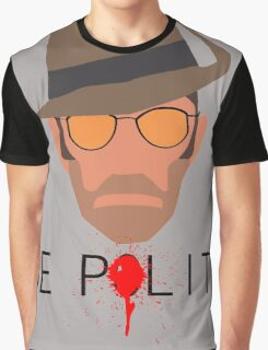 Team Fortress 2 - Sniper Graphic T-Shirt