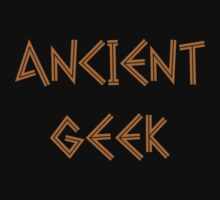 Ancient Geek by marinasinger