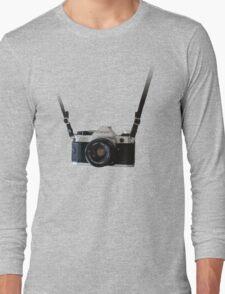 Amazing Hanging Canon Camera - AE1 Program! Long Sleeve T-Shirt