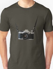 Amazing Hanging Canon Camera - AE1 Program! T-Shirt