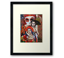 Is that you Mozart 2 Framed Print