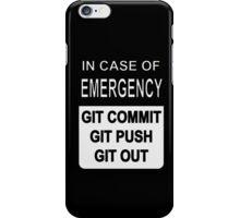 Git Out Custom iPhone Case/Skin