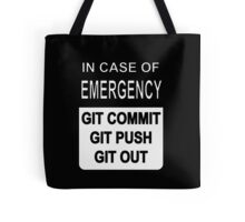 Git Out Custom Tote Bag