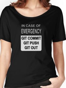 Git Out Custom Women's Relaxed Fit T-Shirt