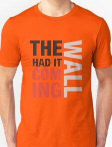 Sherlock quote typography Unisex T-Shirt