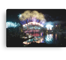 Simply The Best ! - Sydney NYE Fireworks  #1 Canvas Print