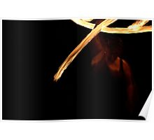 Fire Twirling 0030 Poster