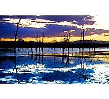 Dusk on the Dam, Somerset Dam, Qld Australia Photographic Print