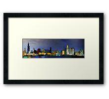 Chi-Town Framed Print