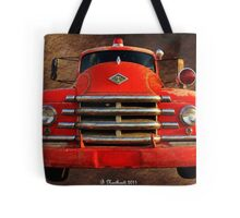 1955 Diamond T Grille - The Cadillac Of Trucks Tote Bag