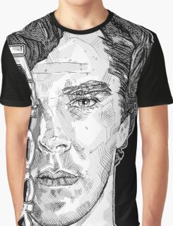 Sherlock - Benedict Cumberbatch Graphic T-Shirt