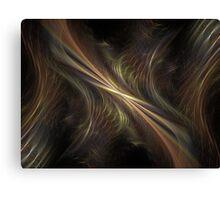 Particle Waves Canvas Print