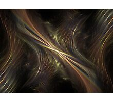Particle Waves Photographic Print