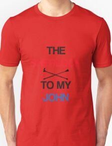The Sherlock To My John Unisex T-Shirt