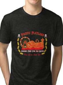 Pacific Playland- Zombie Free Tri-blend T-Shirt