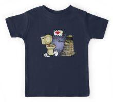 doctor who dalek love Kids Tee