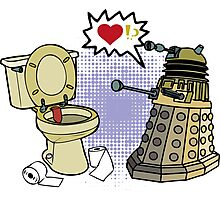 doctor who dalek love Photographic Print