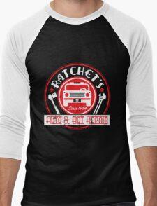 Ratchet's Auto & Bot Repair Men's Baseball ¾ T-Shirt