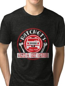 Ratchet's Auto & Bot Repair Tri-blend T-Shirt