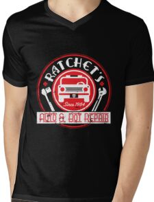 Ratchet's Auto & Bot Repair Mens V-Neck T-Shirt