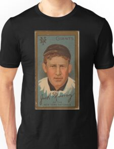 Benjamin K Edwards Collection John J Murray New York Giants baseball card portrait Unisex T-Shirt