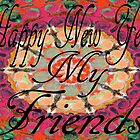 HAPPY NEW YEAR 2012 by Barbara Cannon  ART.. AKA Barbieville