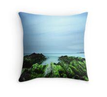 """Beachular Mosstrophy"" ∞ Barragga Bay, NSW - Australia Throw Pillow"