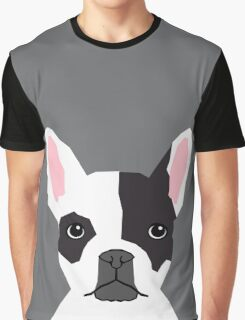 Parker - French Bulldog animal art modern colors for dog people Graphic T-Shirt