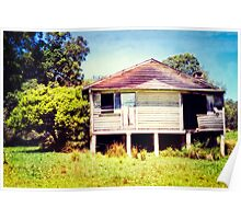 Old House Poster