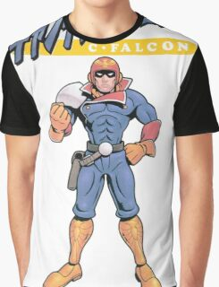 Super Smash Bros 64 Japan Captain Falcon Graphic T-Shirt