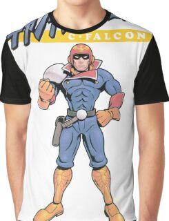 Super Smash Bros 64 Japan Captain Falcon Graphic T-Shirt
