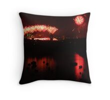 Red Harbour Throw Pillow