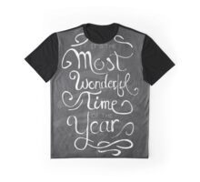 The Most Wonderful Time Graphic T-Shirt