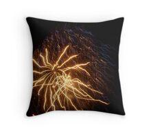 Rolleston Firework Throw Pillow