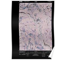 USGS Topo Map Washington State WA Wilkeson 20110422 TM Inverted Poster