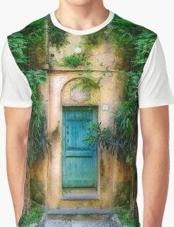 Tuscany doorway Graphic T-Shirt
