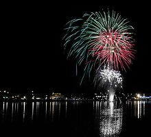 Taree Fireworks 02 - 2012 by kevin chippindall