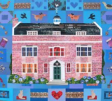 A Dickensian Patchwork: Gad's Hill Place by Amanda White