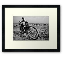 Sweet shop on wheels Framed Print