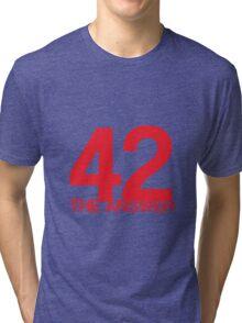 The Answer Tri-blend T-Shirt