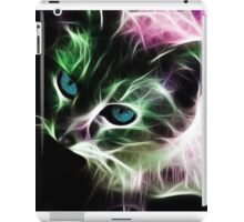Psychedelic  Kitty iPad Case/Skin