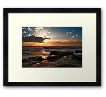 Point Cartwright Dawn Framed Print