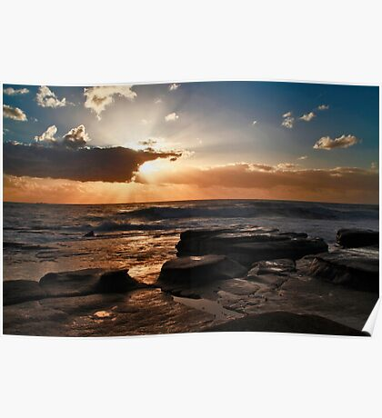 Point Cartwright Dawn Poster