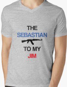 The Sebastian To My Jim Mens V-Neck T-Shirt