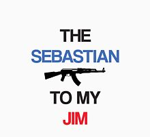 The Sebastian To My Jim Womens Fitted T-Shirt
