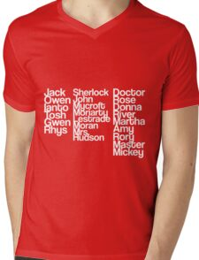 Three Fandoms Mens V-Neck T-Shirt