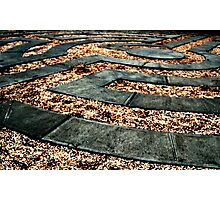 Labyrinth a Time for Reflection Photographic Print