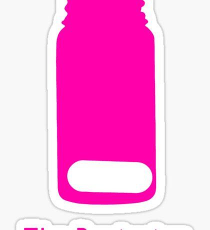 A Study in Pink Sticker
