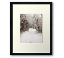 Enchanted winter  Framed Print