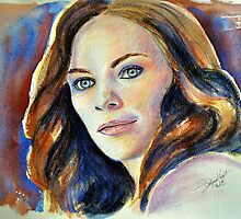 Tess Mercer (Cassidy Freeman), featured in The Group by Françoise  Dugourd-Caput